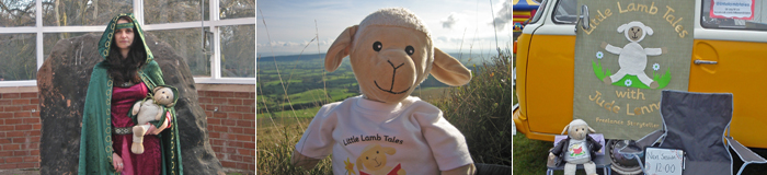 storytelling with Jude Lennon and Little Lamb Tales