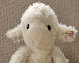 Little Lamb Tales team member Flossie