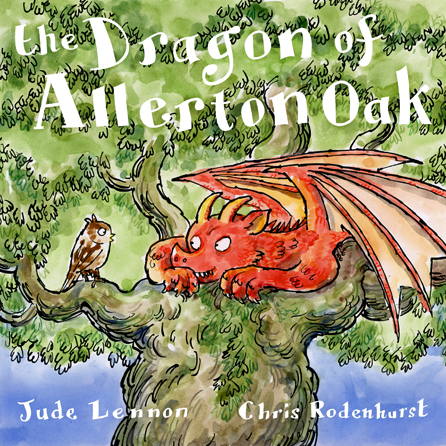 The Dragon of Allerton Oak book cover